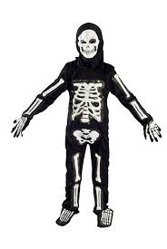 Halloween Skeleton Bodysuit Amazon Com Skeleton Costume For Boys Kids Light Up Halloween Size