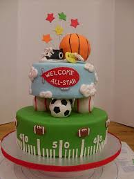 terrific sports themed baby shower cake 28 in baby shower themes