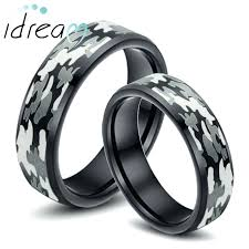 Camo Wedding Ring Sets by Camo Wedding Bands Sets Buck And Doe Ring Set Wedding Cheap Camo