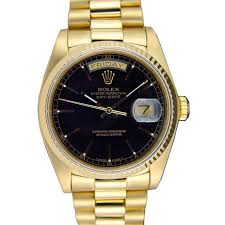 rolex on sale black friday rolex 18038 day date president black for sale