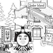 victor train coloring page archives mente beta most complete