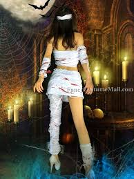 Halloween Costume Mummy Split Bandage Mummy Cosplay Halloween Costume Fancy Costume Mall