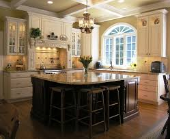 granite island shapes kitchen traditional with breakfast bar
