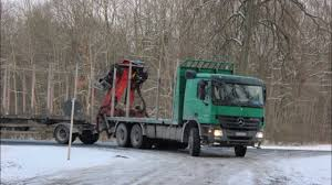timbertruck mb actros 3346 in action youtube