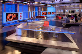 News Studio Desk by Cnn World News Sets Pinterest Tv Set Design