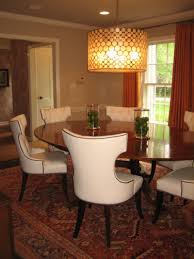 dining room table light fixtures ideas including images kitchen choosing well matched modern dining room lighting and elegant awesome traditional dining room with oval wooden table completed by white chairs on carpet