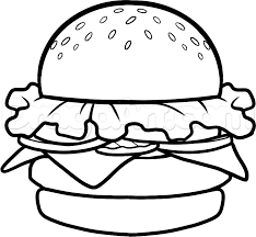 how to draw a krabby patty step by step nickelodeon characters