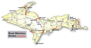 up michigan map road map of michigan michigan map