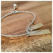 tag bracelet images Personalised tag bracelet linden cook jewellery JPG