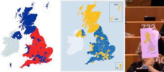 Show Me A Map Of England by Brexit U2014 A Story In Maps U2013 Bob Taylor U2013 Medium
