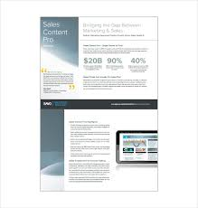 Sales Sheet Template Sell Sheet Template Template For Business Or Non Profit