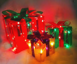 lighted christmas present boxes lighted gift box diy project woman in canada