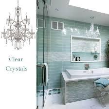 bathroom crystal light fixtures crystal bathroom lighting an important bathroom vanity blogbeen
