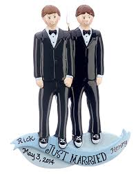 and groom ornaments tree ornaments and