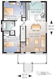 open concept bungalow house plans house plan w3115 v1 detail from drummondhouseplans com