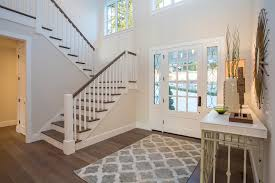 Wooden Front Stairs Design Ideas Front Entry Stairs Design Ideas Entry Farmhouse With Console Table