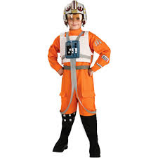 Softball Halloween Costumes Star Wars Wing Pilot Child Halloween Costume Walmart