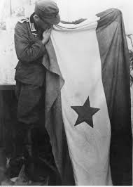 Soldier With Flag File German Soldier With Yugoslav Partisans Flag 1943 Jpg