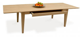Seater Grand Extending Dining Table Design - Kitchen table with drawer
