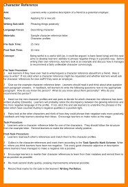 Sample Character Reference In Resume 5 Character Reference Resume Appeal Leter