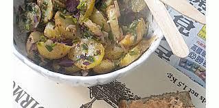 entr cuisine facile salade tiède primeur entre terre et mer facile et pas cher