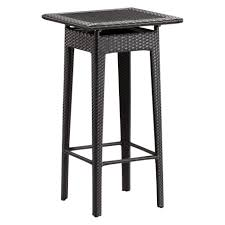 Outdoor Bistro Table Bar Height Pub Garden Furniture For Sale Square Bar Height Patio Table