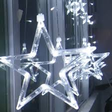 bright star led christmas lights ce rohs novelty items seven bright stars christmas wide lights for