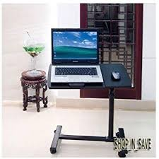 bedside laptop computer tablet table desk stand adjustable tray