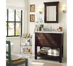 bathroom cabinets pottery barn bathroom mirror contemporary