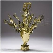 Anniversary Centerpiece Ideas by Golden Yellow Organza Roll 50th Gold Wedding Anniversary