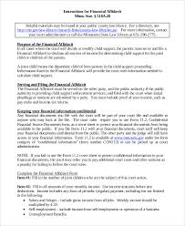 Affidavit Of Support Sle Letter For Tourist Visa Japan sle affidavit of support 8 exles in pdf