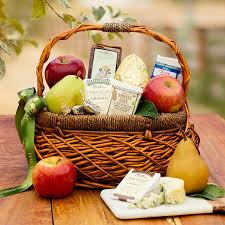 picnic gift basket artisan fruit and cheese basket the fruit company