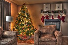 decorating christmas tree in living room photos red electric