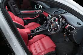Porsche Macan Red - porsche macan 3 0 td v6 s pdk awd 5dr