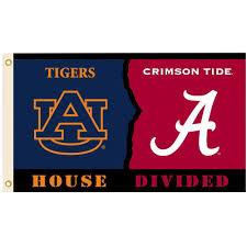 Flag Of Alabama Bsi Products Ncaa 3 Ft X 5 Ft Alabama Auburn Rivalry House