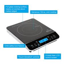 Portable Induction Cooktop Reviews 2013 1 800 Watt Induction Cooktop Burner Homebrew Finds