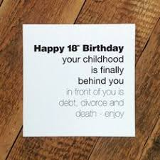 18th birthday card funny 18th birthday card certified srishitty