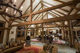 Timber Frame Barn Homes Cutting Horse Ranch In Parker County Texas