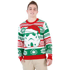 sweater wars wars santa stormtrooper sweater