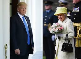 Queen Elizabeth Donald Trump Potential Protests Cause President Trump To Reportedly Delay State