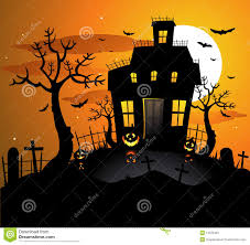 halloween background designs haunted house halloween background royalty free stock image