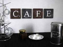 ustensile de cuisine en m en 6 lettres lettres décoratives cafe pour une décoration murale de cuisine