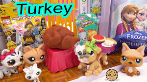 thanksgiving pet photos lps mommies playdoh thanksgiving turkey surprise toys shopkins