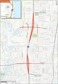 Tamarac Florida Map by I 95 Gateway Boynton Interchanges Project