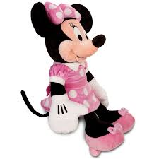 minnie mouse plush pink large 27 u0027 u0027 shopdisney