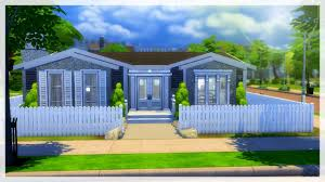 the sims 4 speed build one story suburban youtube