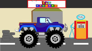monster truck cartoon videos monster truck stunt monster trucks for children monster truck