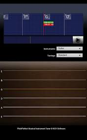 tuner gstrings free apk pitchperfect guitar tuner free android apps on play