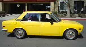 classic datsun 510 z car blog post topic from georgia with love yellow datsun 510