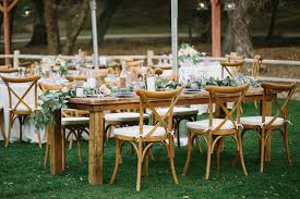 wedding tables and chairs we office cross back wedding chairs at the lowest prices our